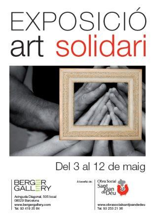 Os invitamos a la PRÓXIMA INAUGURACIÓN que tendrá lugar el jueves día 3 de mayo a las 19h. La exposición ART SOLIDARI ti...